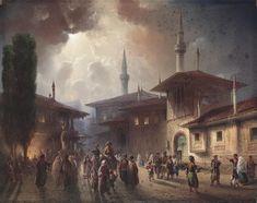 Carlo_Bossoli_Khanpalast_von_Bachcisaraj_1857