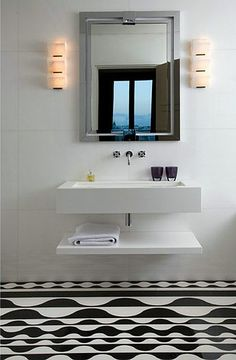 luxurious bathrooms by a design maestro: yes, it's pierre yovanovitch and, of course, Paris! ~ themodernsybarite