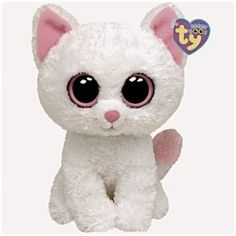 Ty Beanie Boos Cashmere The Cat - Wish list Ty Beanie Boos, Large Beanie Boos, Ty Boos, Beanie Buddies, Big Eyed Stuffed Animals, Big Eyed Animals, Ty Animals, Ours Boyds, Ty Peluche