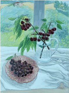 Nicola Romilio  Vassoio di ciliegi