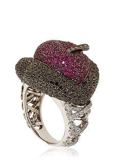 Erotic Ruby Ring
