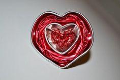Anillo San Valentín: anillo de corazón con capsulas nespresso
