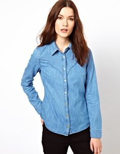 Enlarge Warehouse Super Soft Denim Shirt
