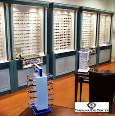 Optical Shop Optometry Office, West Columbia, Eye Center, Boutique, Optical Shop, Optician, Stores, Store Design, Clinic