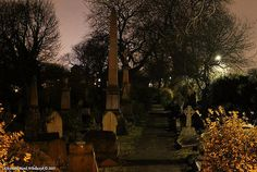 Old Cemetery in England