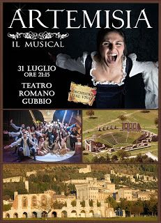 TG Musical e Teatro in Italia: ARTEMISIA IL MUSICAL in scena al Teatro Romano di ...
