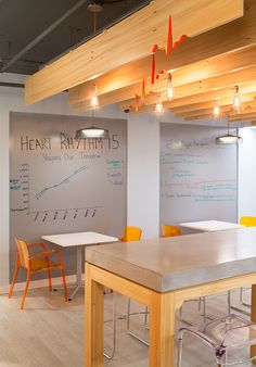 office design for the Heart Rhythm Society located in Washington DC.