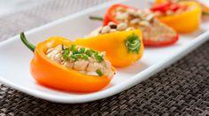 Macheesmo: Double Layer Stuffed Sweet Peppers