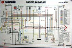 500 Suzuki Ideas In 2020 Suzuki Diagram Motorcycle Wiring