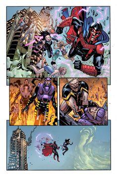 First Look: The X-Men Enter CIVIL WAR II - Comic Vine