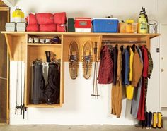Garage--A versatile storage system (with instructions on how to build it)