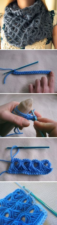 Chic Crochet Scarf – DIY