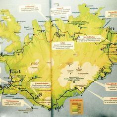 iceland map, driving route ring road, driving the ring road, which way to drive the ring road, adventure map iceland, best iceland map