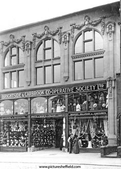 Brightside and Carbrook Co-op Society Ltd., No. 18-20 Page Hall Road opened 1914