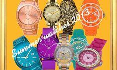 Relojes de moda verano 2013