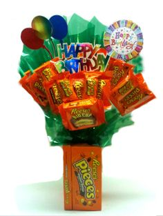 Delicious Candy Bouquet And Bar Cake Gifts To Send For Any Special Occasion