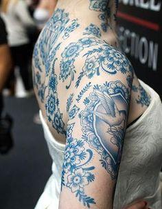 # body art to make temporary tattoo crafts ink tattoo tattoo diy tattoo stickers Diy Tattoo, Tatoo Henna, Henna Tattoo Designs, Design Tattoos, Mini Tattoos, Body Art Tattoos, New Tattoos, Blue Ink Tattoos, Blue Flower Tattoos