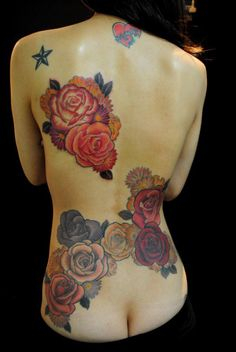 32 Rose Tattoo