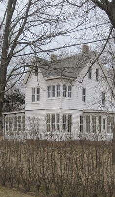 I'd love nothing more than to find an old farmhouse like this someday. Old houses have so many windows as compared to modern built homes. I love natural light. White Farmhouse, Farmhouse Windows, Farmhouse Style, Modern Farmhouse, Farmhouse Decor, Southern Farmhouse, Vintage Farmhouse, Old Farm Houses, Abandoned Houses