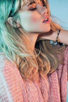 Suki Waterhouse wears Kirei blouse - www.labelonline.co.uk