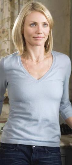 Cameron Diaz The Holiday. Winter white and all things nice. WANT IT ALL!