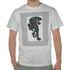 Wild Prehistoric Tiger Tee Shirts