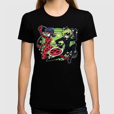 Miraculous Ladybug & Cat Noir Shirt - $24