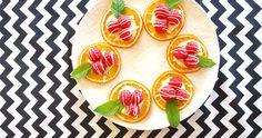 #Raspberry & Mint Orange Crisps #recipe from @simpleandcrisp. #food #snack #summereats #cleaneats #healthy