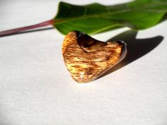 HandCarved Oak Wood Ring Natural Wooden Ring by rusticouture