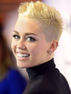 Severe Shave  Miley Cyrus atVH1 Divas 2012 in Los Angeles.