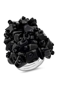 Agate Cluster Ring by HMY Jewelry on @HauteLook