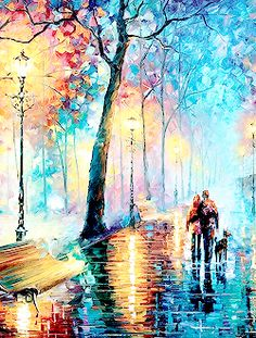 ART HISTORY MEME | [6/8] artists; leonid afremov
