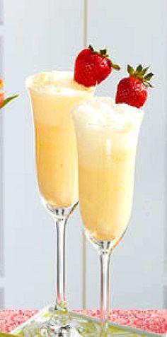 Creamsicle Mimosa Recipe ~ Non-alcohol version also