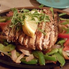 """Swordfish Fajitas!  #LazyLowCarb #keto #lowcarb #eat #food #fajitas #instafood #foodporn #lchf #glutenfree #grainfree #ketosis #dinner #ketodiet #paleo"""