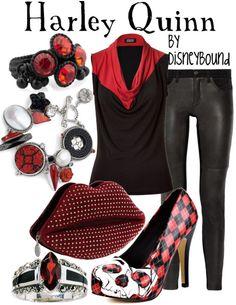 Disney Bound - Harley Quinn (DC Comics)