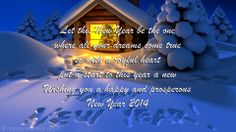 Happy New Year 2014 Quotes Wallpaper | Happy New year Wallpaper, Greetings and eCards