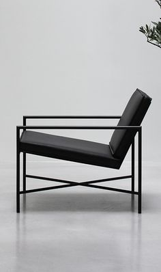 Lounge chair by Emil Thorup for Handvark. The trend in the new Danish design scene
