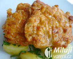 Čínské řízečky Czech Recipes, Ethnic Recipes, Food 52, Cauliflower, Macaroni And Cheese, Chicken Recipes, Good Food, Food And Drink, Menu