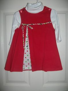Knot dress christmas girls and knots on pinterest
