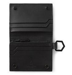 Lanvin - Grained-Leather Cardholder | MR PORTER - http://www.mrporter.com/en-us/mens/lanvin/grained-leather-cardholder/566655