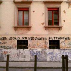 Star Walls - Scritte sui muri. — La volpe e l'uva