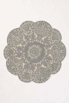Doily Rug - Anthropologie.com