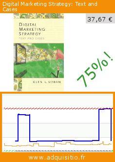 Digital Marketing Strategy: Text and Cases (Broché). Réduction de 75%! Prix actuel 37,67 €, l'ancien prix était de 149,34 €. Par Glen Urban. https://www.adquisitio.fr/prentice-hall/digital-marketing