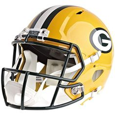 110bd065ed0 Discounted Riddell Green Bay Packers Officially Licensed Speed Full Size  Replica Football Helmet  752082460844