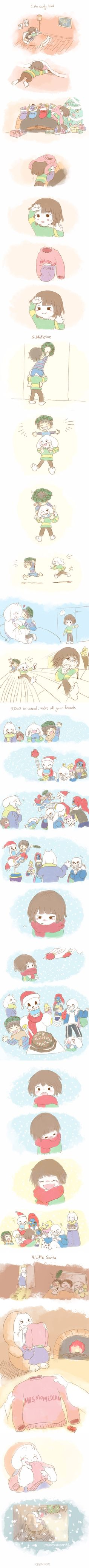 Undertale - comic - Christmas