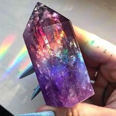 I'll be prepping some new jewelry magic for you so drool over this insane amethyst and suncatcher! Tag a friend who could use a little color therapy today. Minerals And Gemstones, Rocks And Minerals, Crystal Aesthetic, Magical Jewelry, Cool Rocks, Crystal Magic, Crystal Shop, Mineral Stone, Rocks And Gems