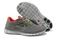 quality design 8ce09 23f3e Nike Free Run 5.0 Gray Orange Mens Shoes Cheap Running Shoes, Nike Shoes  Cheap,