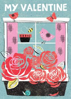 Welcome to We produce beautiful illustrated stationery, art prints, homeware and greetings cards. Valentines Illustration, Valentine's Day Greeting Cards, Stationery, Kids Rugs, Art Prints, Artist, Somerset, Design, Decor