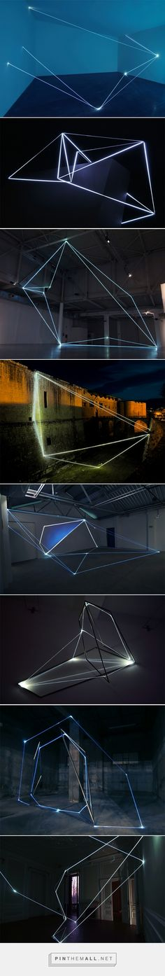 Light & Space: Installations by Carlo Bernardini - created via https://pinthemall.net