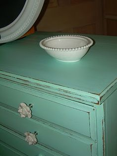 "valspar ""lake breeze"" paint on a dresser Furniture Projects, Furniture Makeover, Home Projects, Home Furniture, Repurposed Furniture, Painted Furniture, Valspar Colors, Love Your Home, Room Paint"
